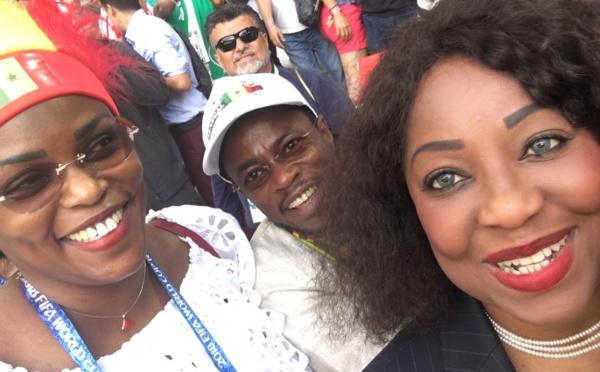 """Sénégal-Pologne : Fatma Samoura """"excitée"""" avec Marième Faye Sall"""