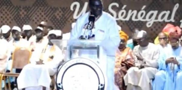 L'intervention de Cheikh Kante au meeting de Fatick qui dément l'article de l'AS