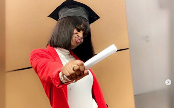 Photo – La sœur de Waly Seck, Aïcha aurait décroche son diplôme