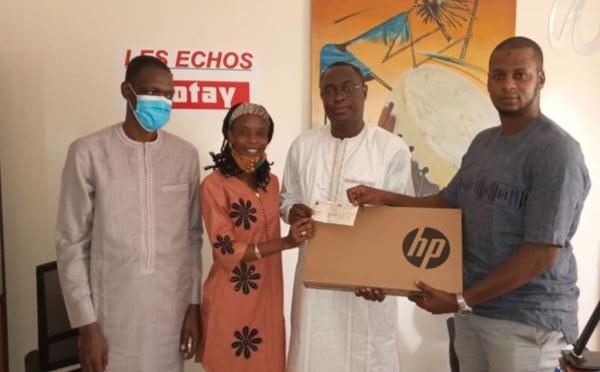 Saccage du journal Les Echos : La Cjrs offre un chèque 500.000 FCfa et 3 ordinateurs