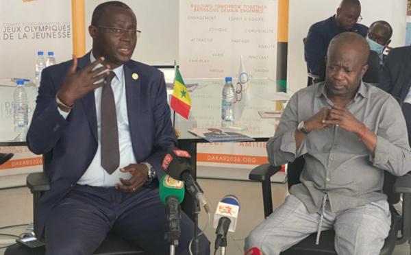 Présidence de la CAF : Augustin Senghor s'est entretenu avec le président du CNOSS, Mamadou Diagna Ndiaye.