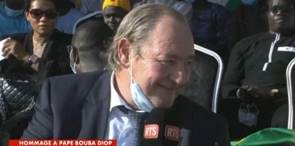 Gervais Martel, ancien Président du RC Lens