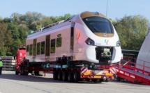 Alstom envoie une rame du TER, arrivée à Dakar le 12 novembre