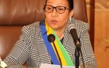 Lucie Milebou Aubusson présidente par intérim du Gabon