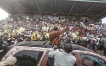 Meeting de clôture de Macky Sall au Stade LSS