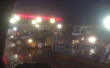 Embouteillage / Il pleut sur Dakar : La malédiction de la mauvaise file.