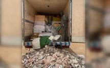 Keur-Ayip : La douane effectue une saisie record de plusieurs tonnes de médicaments d'une valeur d'1,5 milliard FCfa